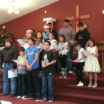ATCA students participating in Christmas Service.