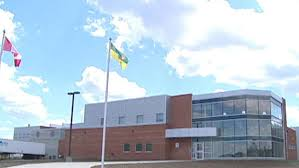 Regina Correctional Centre where Carole & I visit once a month.